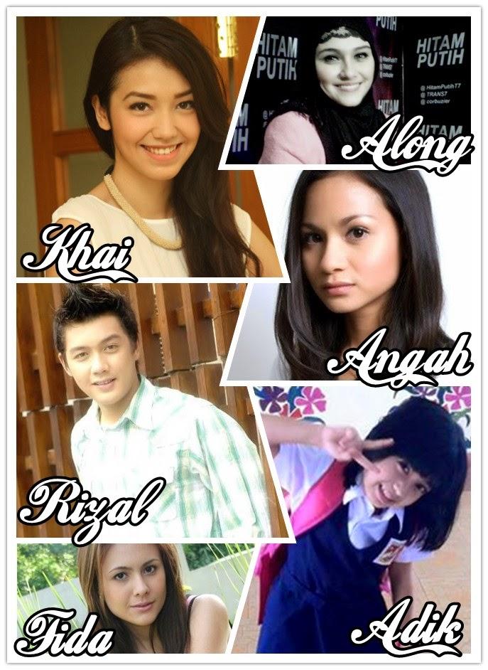 Watak2 dalam KhaiRizal : A Love Story