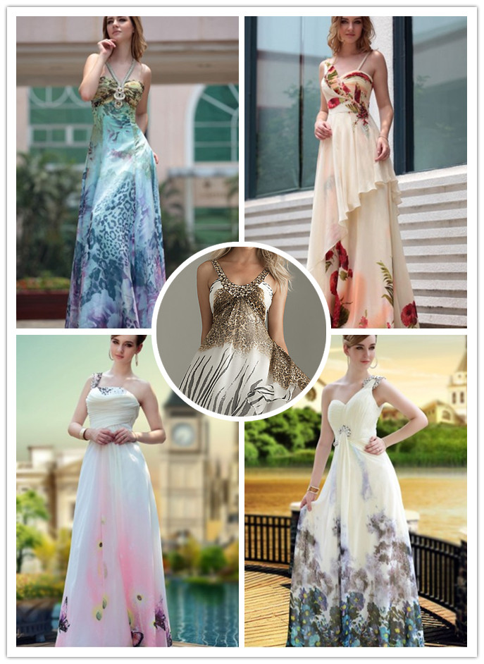 raining blossoms prom dresses printed prom dresses to