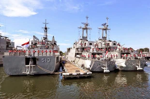 Kekurangan BBM, Banyak Kapal TNI AL Mandek
