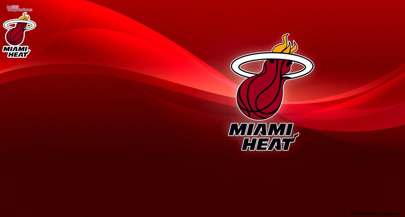 Miami Heat Logo Wallpaper Desktop
