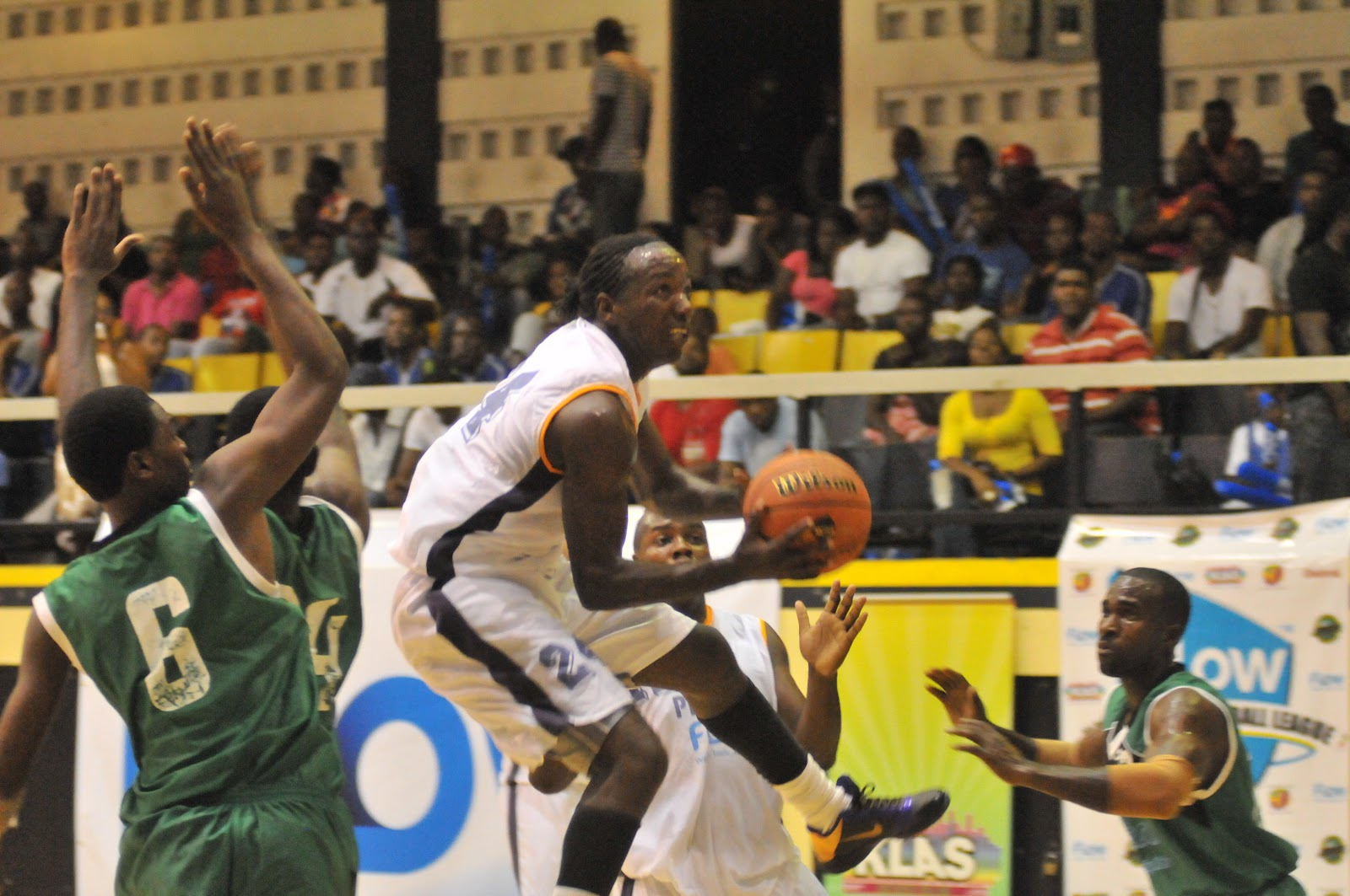 Flow Jamaica: Flow National Basketball League Action