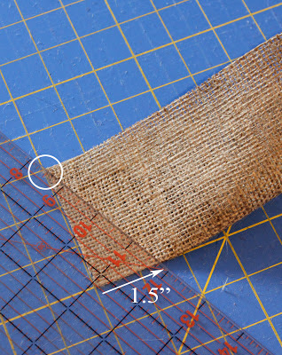 Tutorial: Burlap Thanksgiving Banner