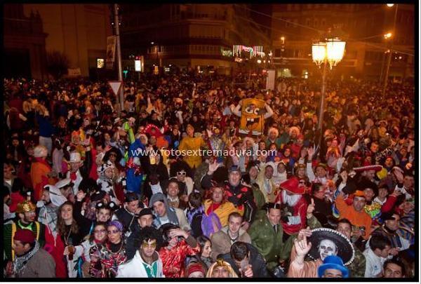 carnaval de badajoz en la calle