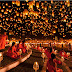 The Shining Yi Peng Festival in Thailand