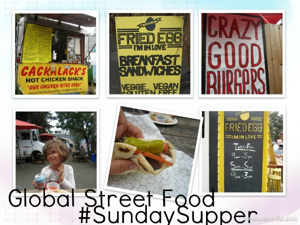 #SundaySupper Global Street Food Preview | www.girlichef.com