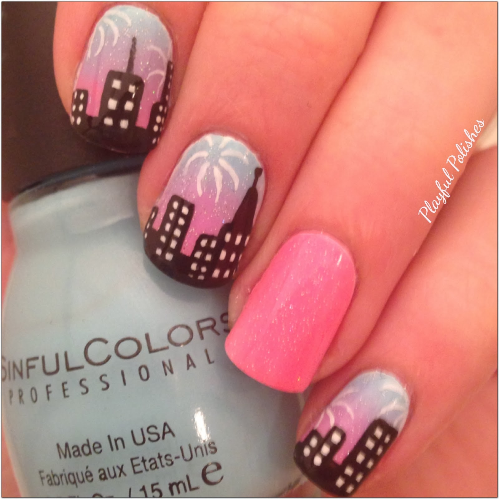 Playful Polishes: NEW YEARS NAILS