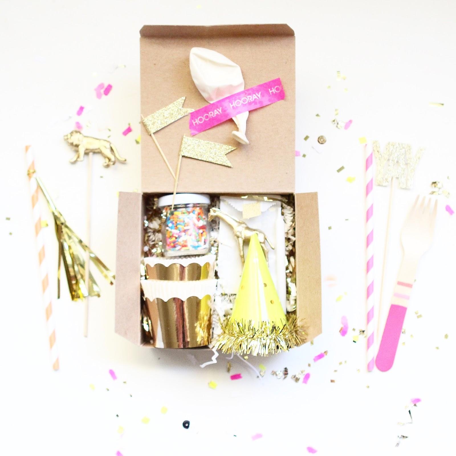Bright & Bold: A BIRTHDAY BOX