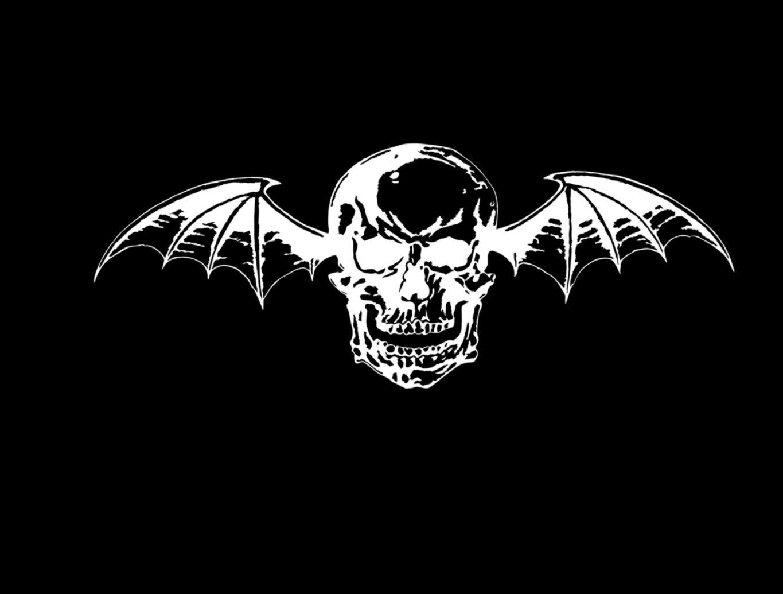 Avenged Skull Logo Black Background   All HD Wallpapers