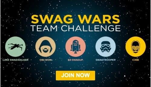Swagbucks Swag Wars Team Challenge