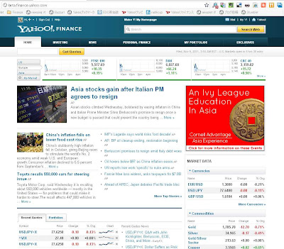 Yahoo! Finance ­Business Finance, Stock Market, Quotes , News