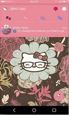 BBM MOD Pink Kitty V2.9.0.51 Apk