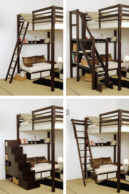 lit mezzanine design 2 places finest wonderful lit. Black Bedroom Furniture Sets. Home Design Ideas
