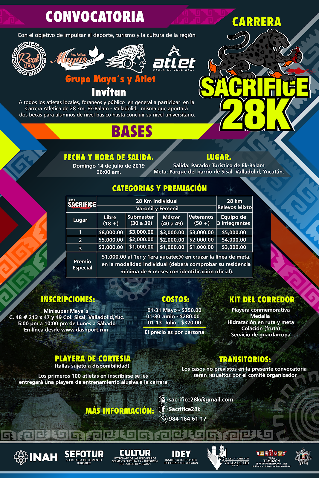 Sacrifice 28 k