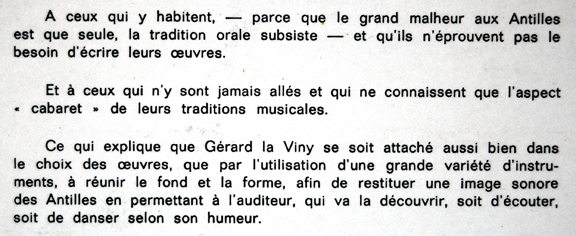 Show La Viny - Gérard La Viny - Brazil