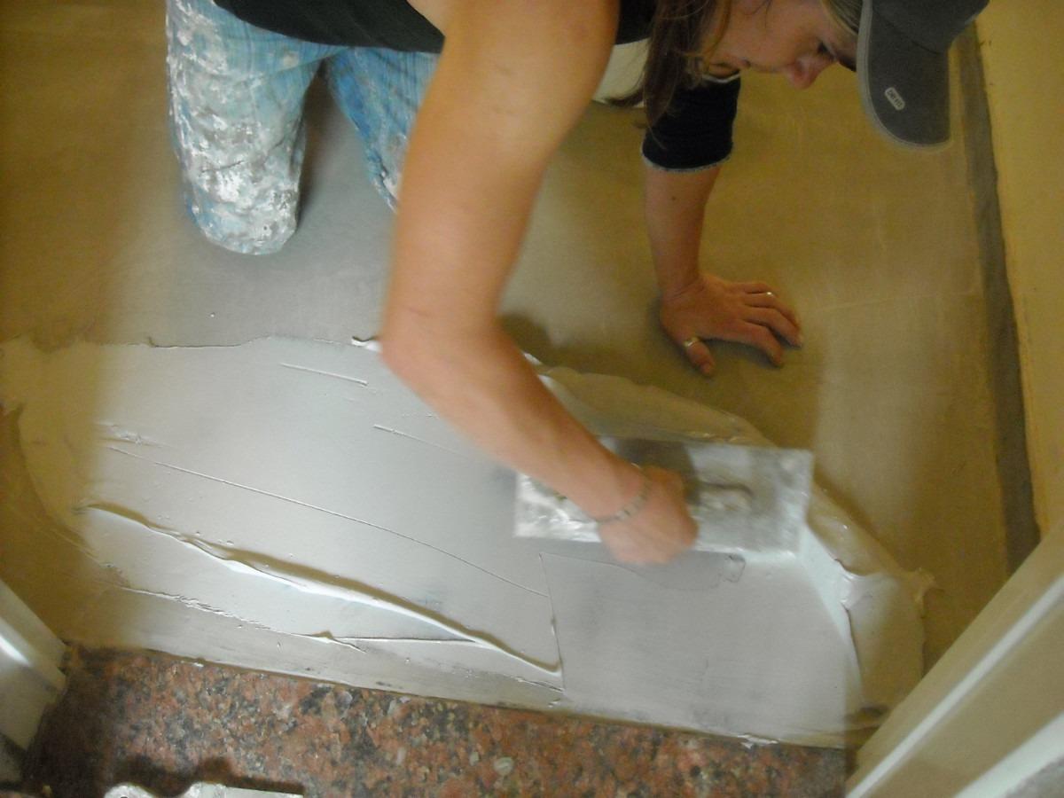 Construye tu septiembre 2013 - Como hacer brillar el piso de cemento ...