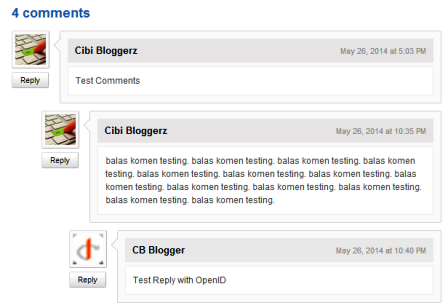 kotak reply komentar  blog