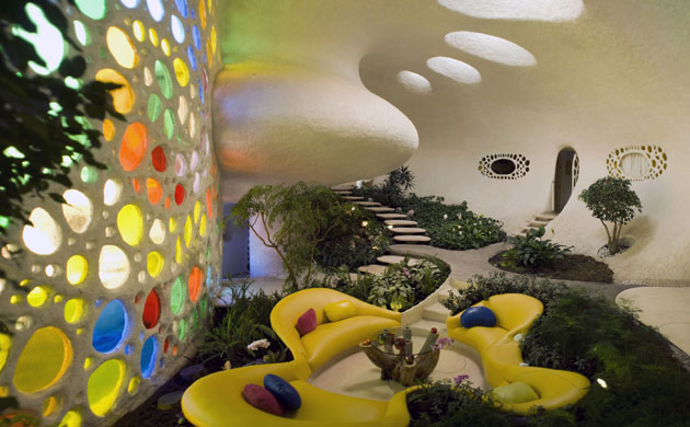 Arquitectura org nica for Nautilus garden designs