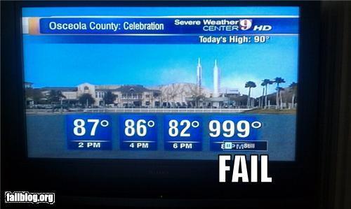 Temperatura fail