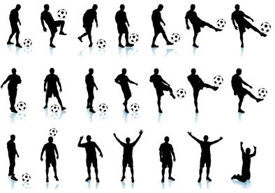 Belajar teknik dasar permainan Sepakbola