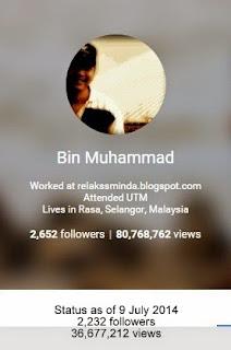 Google Plus - G+ Bin Muhammad