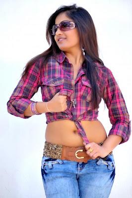 Tollywood actress Madhavi Latha Latest Photoshoot