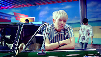 Teen Top Ricky in Ah Ah MV