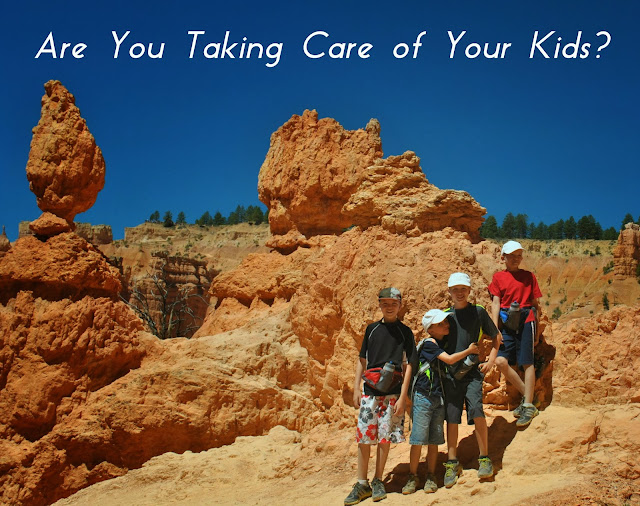 "Thought provoking post that really makes you think about what ""really taking care of your kids"" means. #parenting"