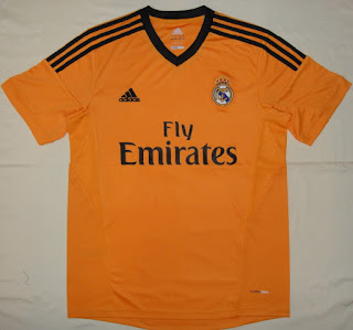 Real Madrid Terceiro Uniforme Third 2013/2014