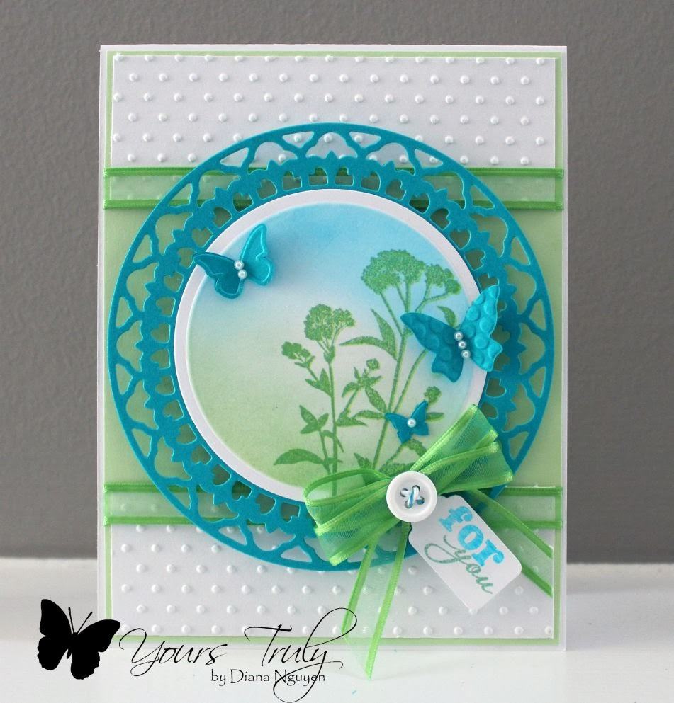 Diana Nguyen, Verve, Sweet 'n Sassy, handmade cards