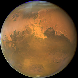 Planeta Marte na Foto da Nasa