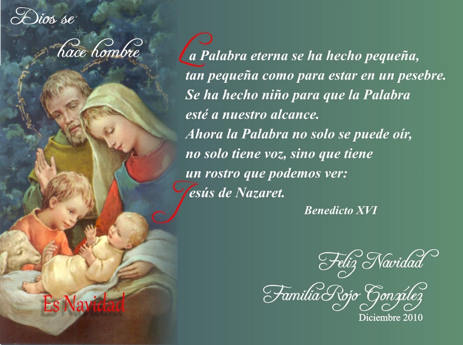 Tarjetas de navidad para imprimir el rinconsito de amor