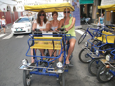 Pedaling through Pisa