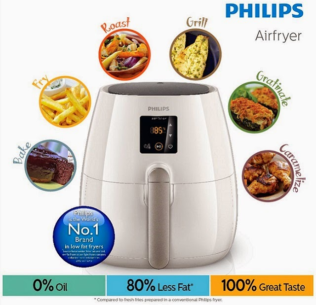 "10 lucky winners get to join the ""Philips Ultimate Cook-Off, hurry contest ends 22 June 2014!"