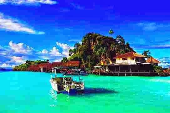 Pemandangan Menakjubkan Pulau Misool, Kepulauan Raja Ampat