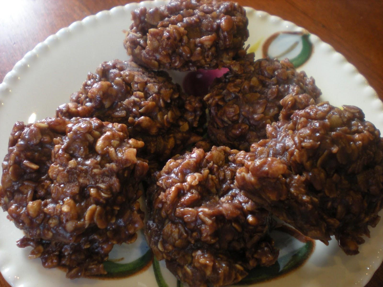 Horse poop cookies