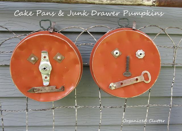 Cake Pan Junk Pumpkins