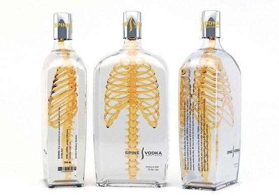 Packaging Spine Vodka