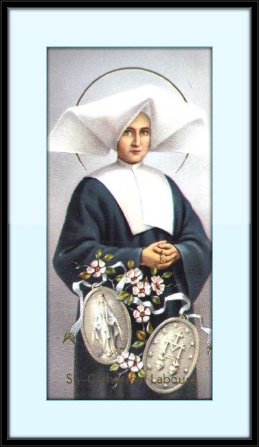 Our Lady of Mount Carmel Little Flowers Girls' Club: Humility ~ St. Catherine Labouré