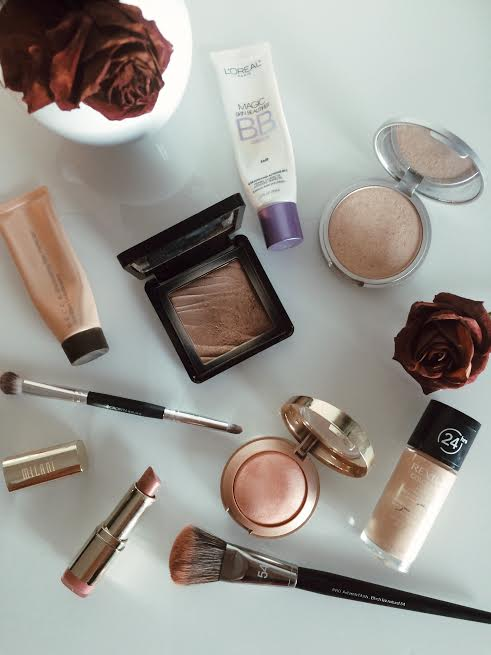 dewy makeup routine