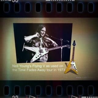 Neil Young's Gibson Flying V