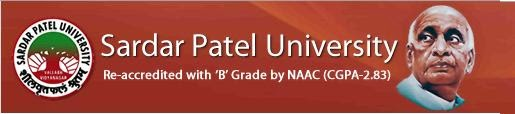 Sardar Patel University 2014, 2015 Results