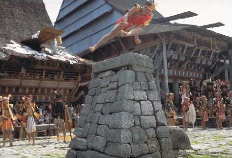 Stone Jumping Nias Island