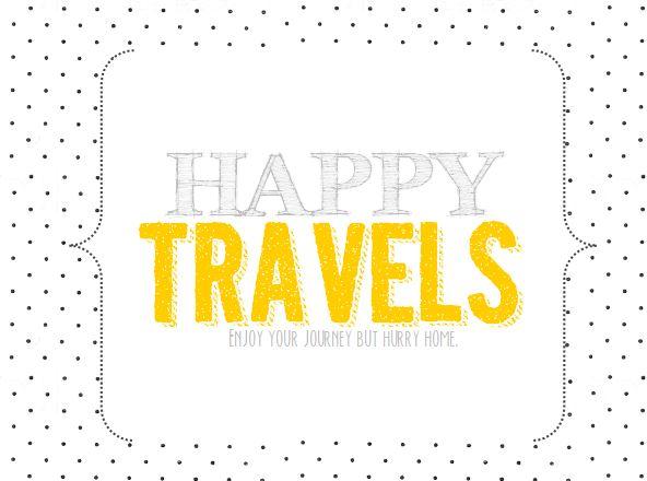 travel printable