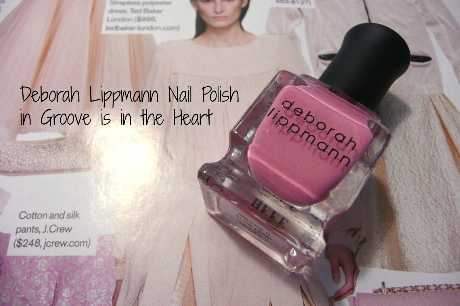 Deborah Lippmann Groove is in the Heart