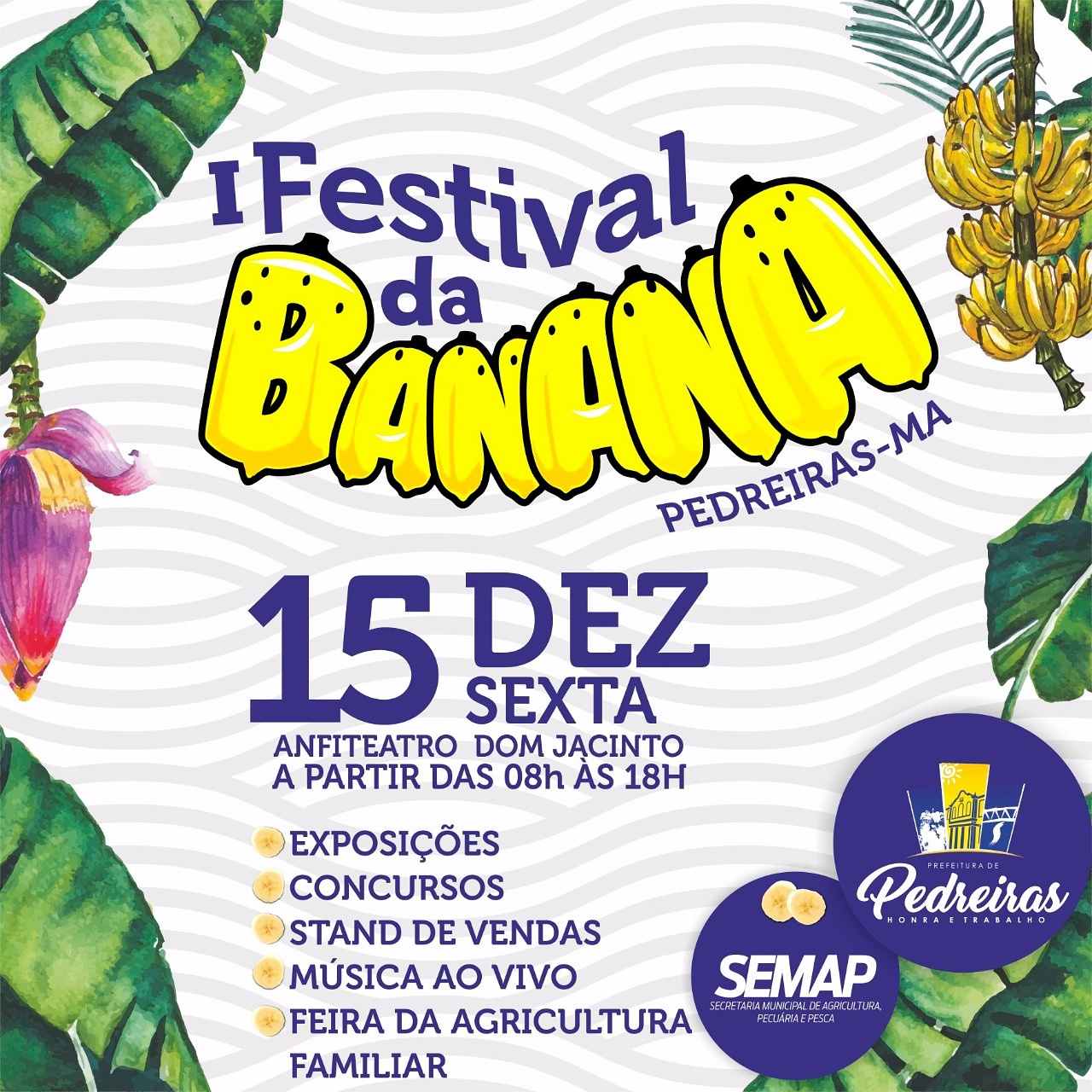 I FESTIVAL DA BANANA