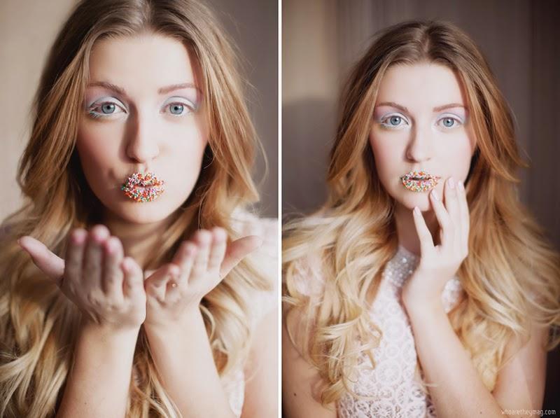 Candy lips girl