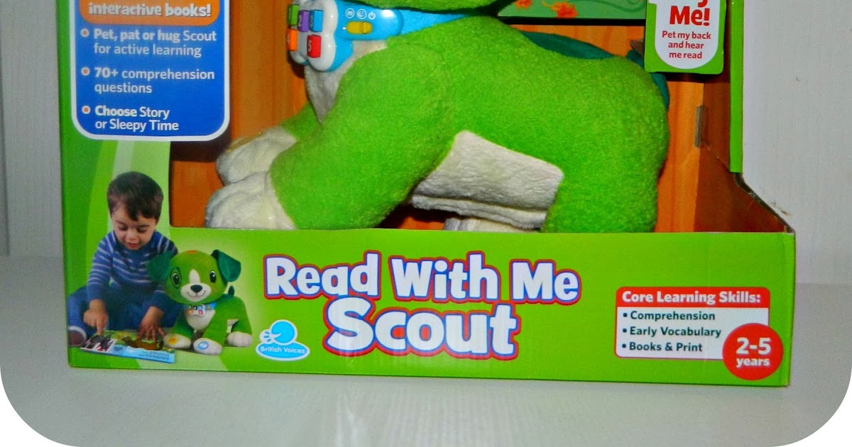 Read With Me Scout From Leapfrog A Review Red Rose Mummy