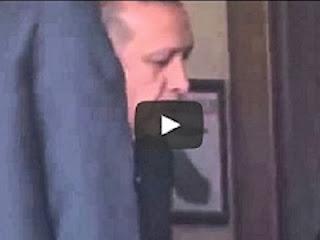 Video Erdogan saat terlambat datang Shalat Jumat (Youtube)