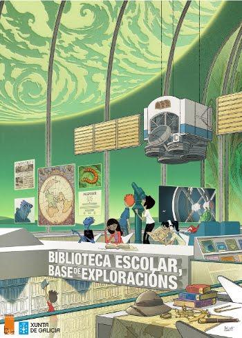 Biblioteca escolar,base de exploracións