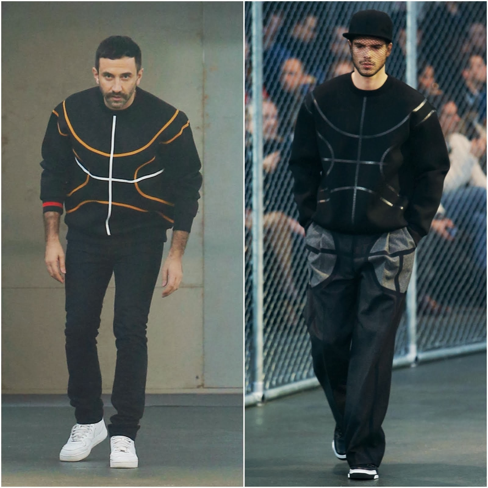 Riccardo Tisci in Givenchy - Givenchy Fall Winter 2014 Show, #PFW